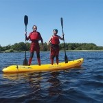 Kayaking at Donegal Adventure Centre