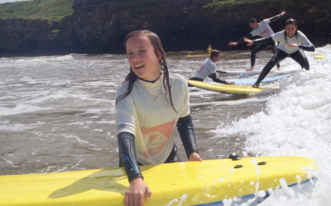 Learning to Surf with the Bundoran Surf Company