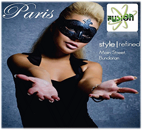 Logo for Paris Nightclub, Main Street, Bundoran, Co. Donegal