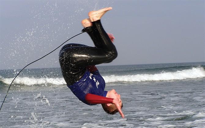 Surfing in Bundoran