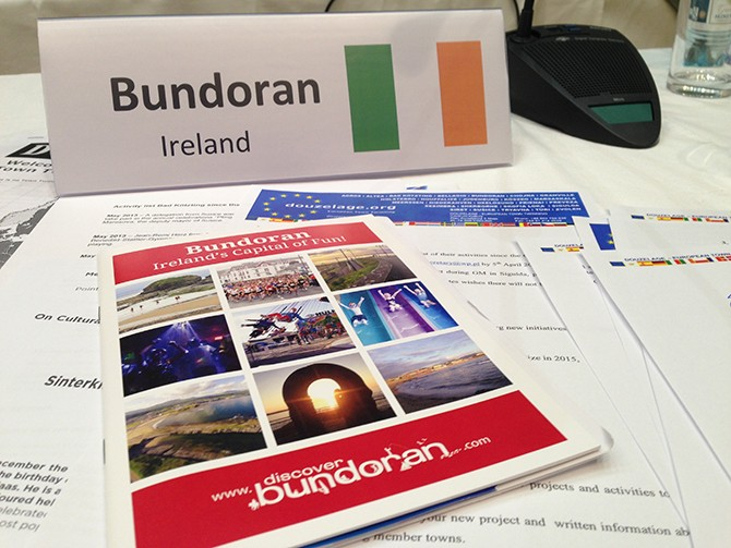 Bundoran at Douzelage Conference