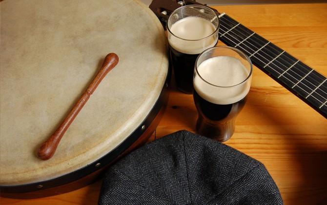 Irish traditional music, Main St., Bundoran