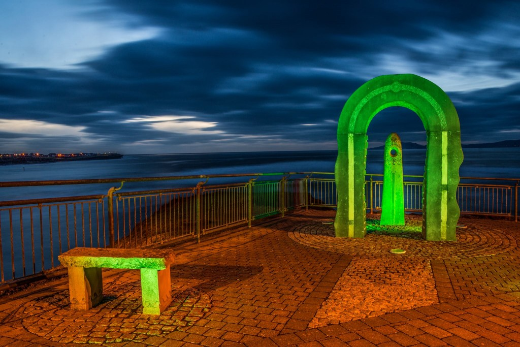 mar - bundoran goes green
