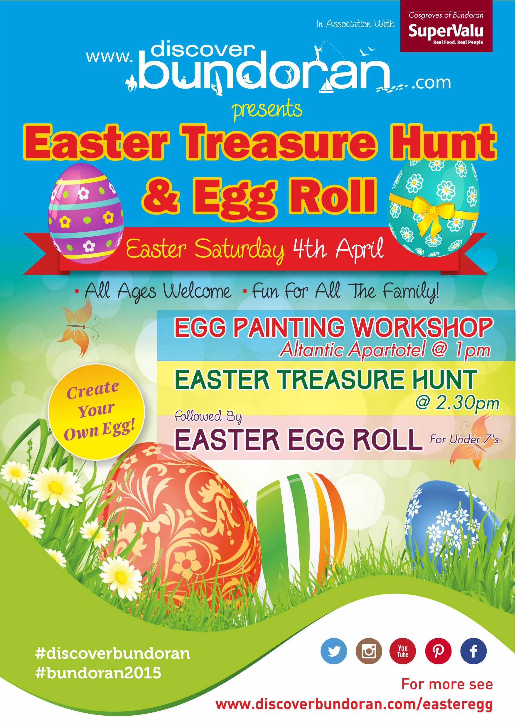 Easter egg painting and treasure hunt discover bundoran for Easter egg fun facts
