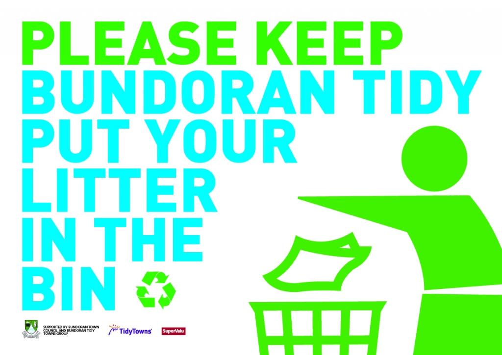 Bundoran Tidy Towns poster