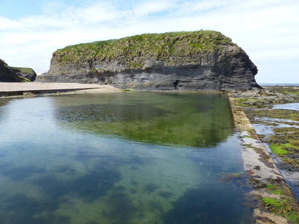 "The ""Thrupenny Pool"" just below Waterworld - top free things to do in Bundoran"