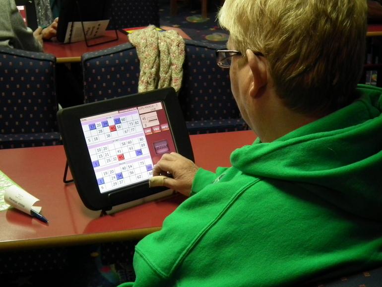 Playing Bingo at Star Bingo Bundoran