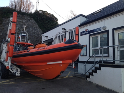 Funds raised at the soapbox race will go towards the upkeep of the lifeboat and continuous training of the volunteer crew.JPG