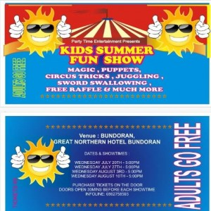 kids summer fun show