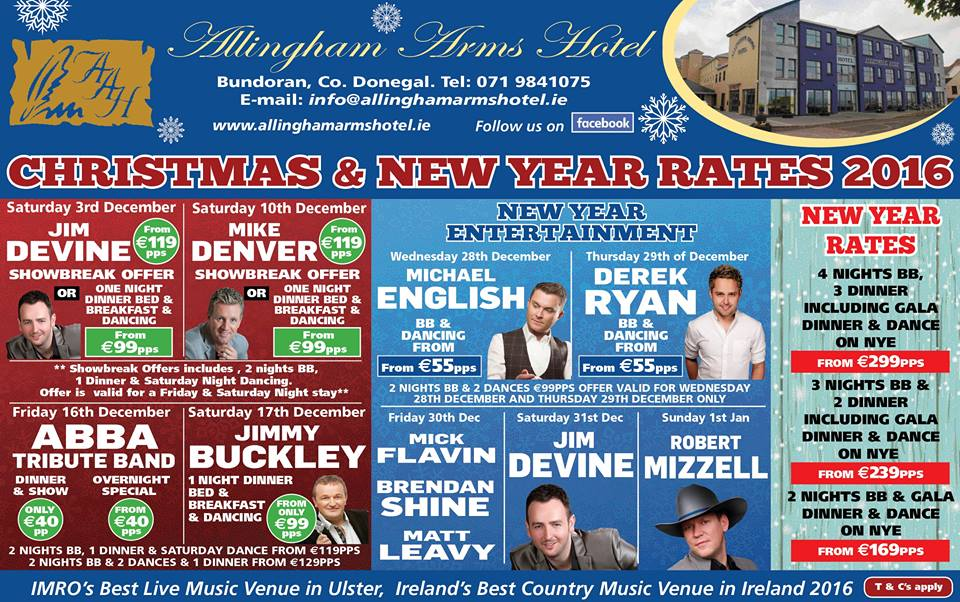 Christmas Party & New Year Entertainment 2016