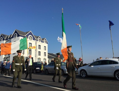 """Welcome Home"" theme for Bundoran St Patrick's Day Parade"