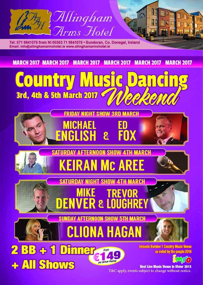 Country Music Dancing Weekend