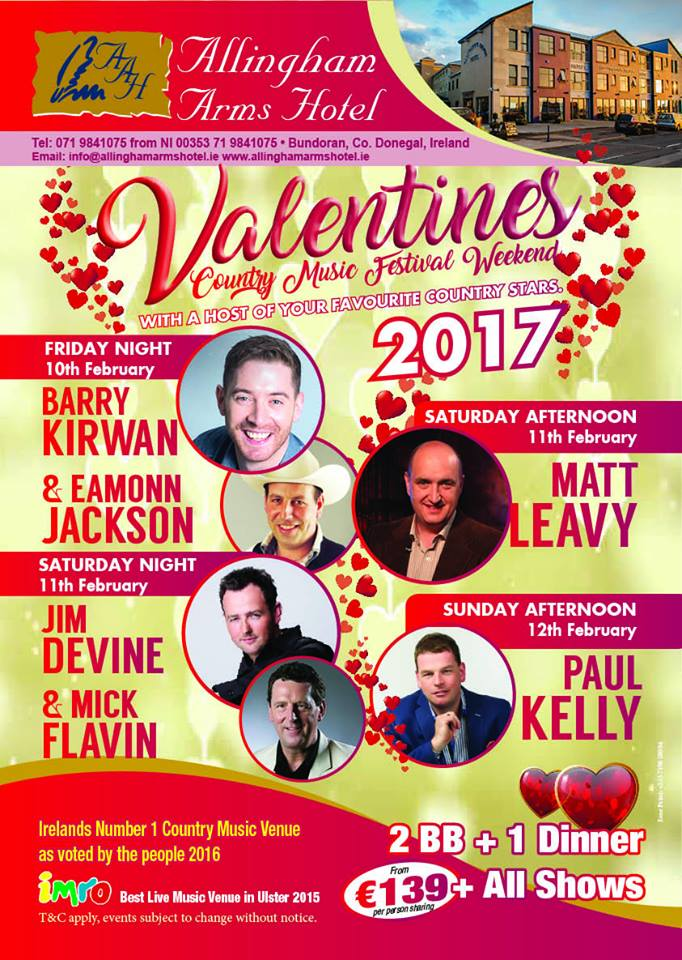 Valentine's Country Music Festival Weekend