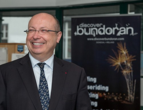 Visit of the French Ambassador to Bundoran