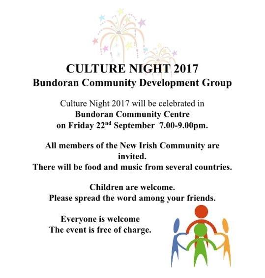 Culture Night, Bundoran 2017