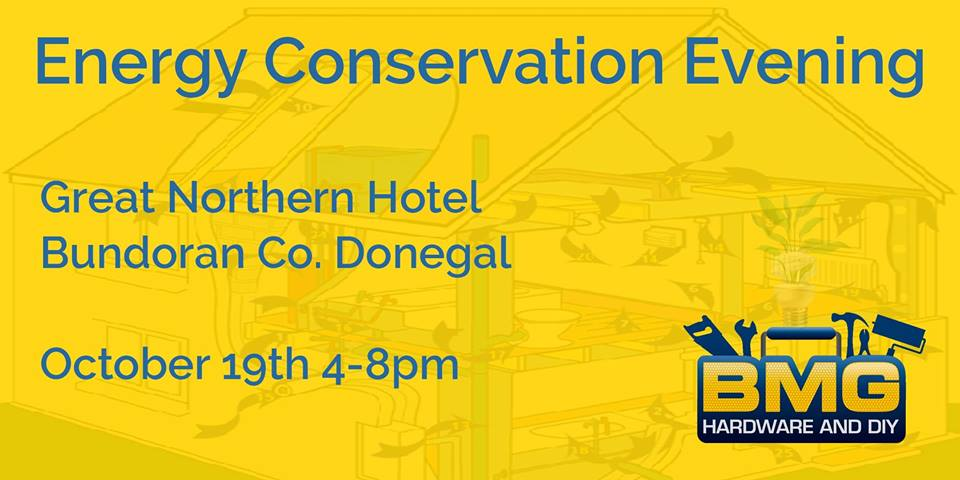Energy conservation evening discover bundoran tourist for Facts about energy conservation