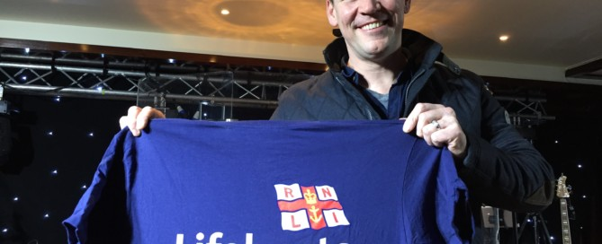 Robert Mizzell supporting Bundoran RNLI's annual lifeboat dance on Friday 2nd February 2018