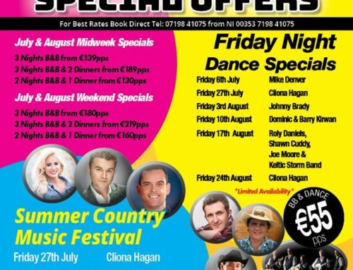 Allingham Arms Show Breaks July/August 2018 Special Offers