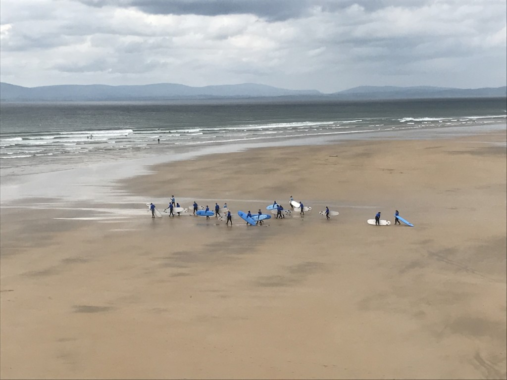 Surf Lesson Tullan Strand May 2017