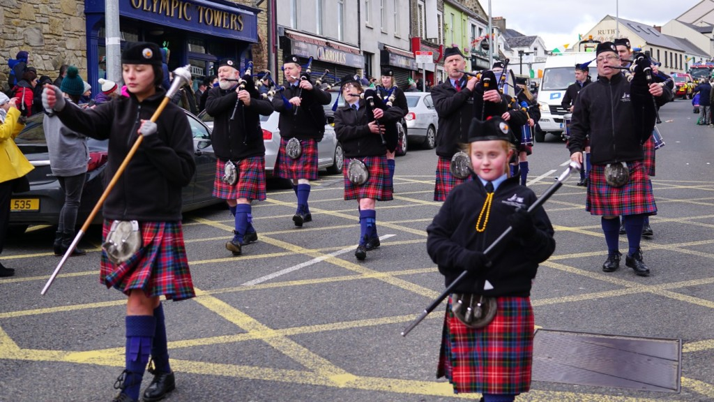 welcome home Successful st patrick's day parade - One of the marching bands in Bundoran for St Patrick's Day
