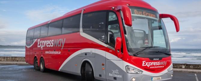 Bus Eireann bus to Sea Sessions