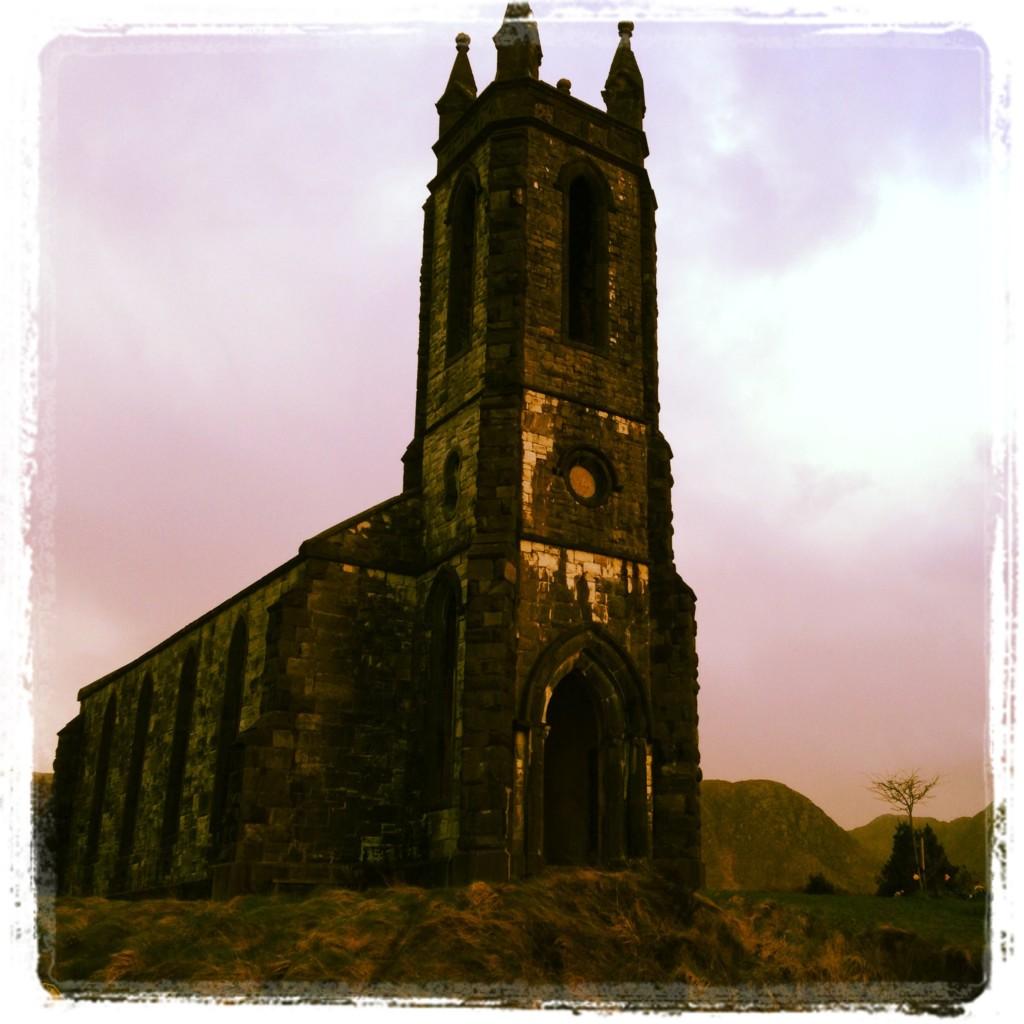 Ruined church at Dunlewey