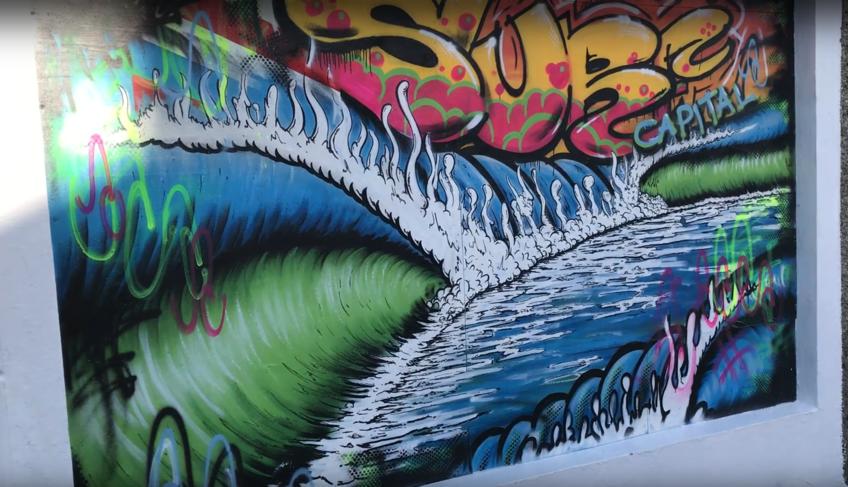 bundoran's murals