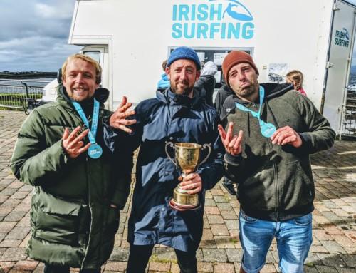 Kilfeather crowned national surf champ