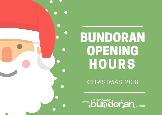 Opening Times Over Christmas