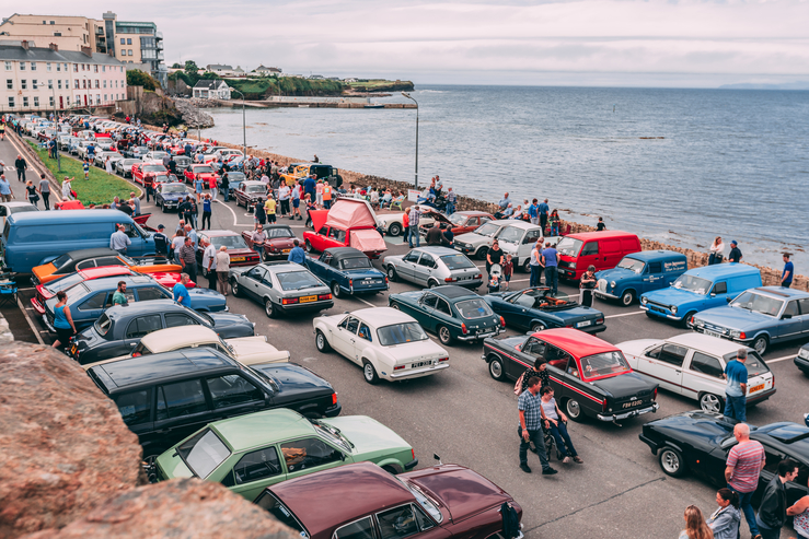 Things to do in Bundoran - The annual Vintage and Classic Bundoran Car Show takes place on July 21st - pic Conor Conlon
