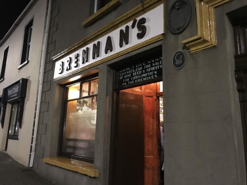 Brennan's exterior September 30th 2018 - closing night