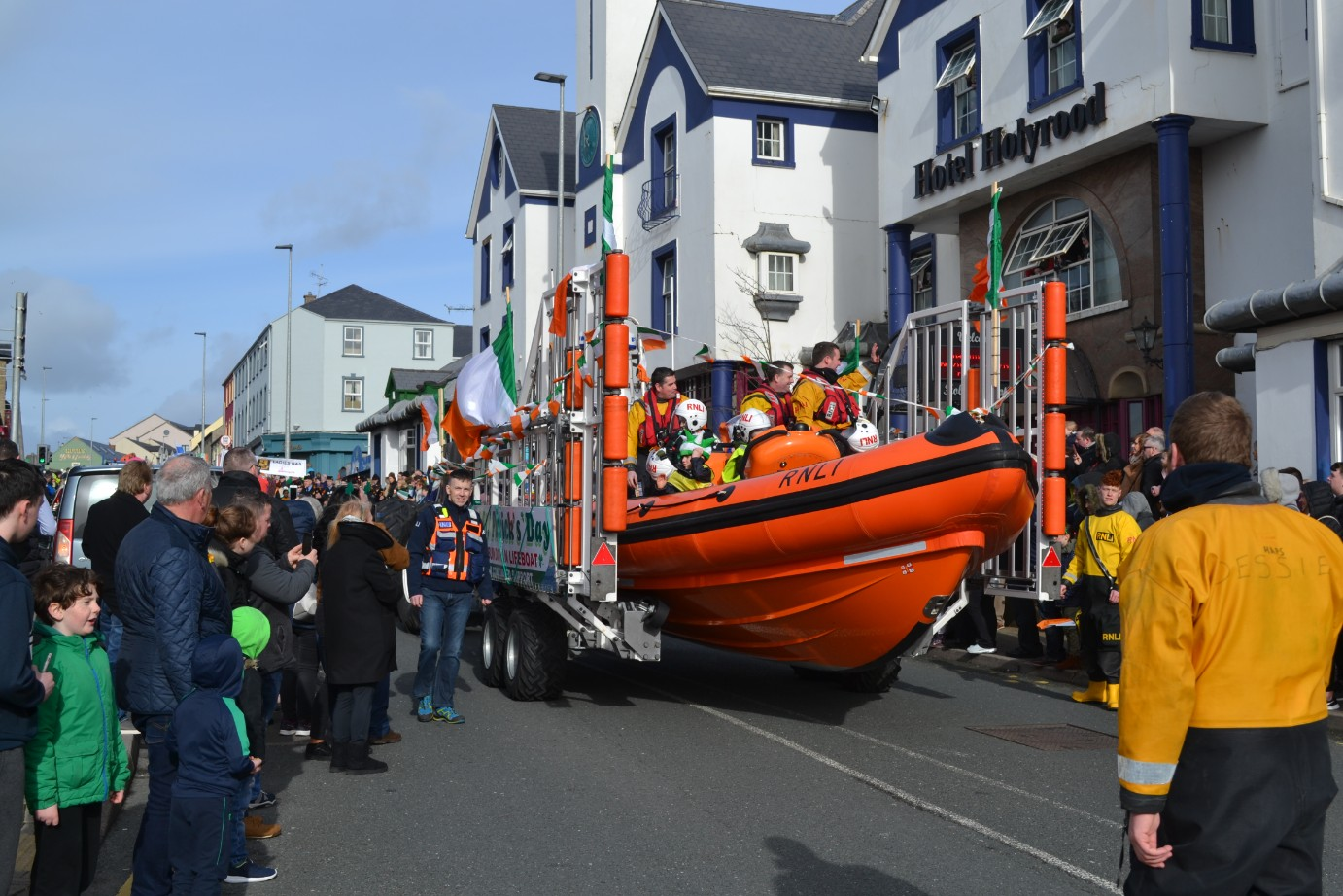 St Patrick's Day Bundoran Images
