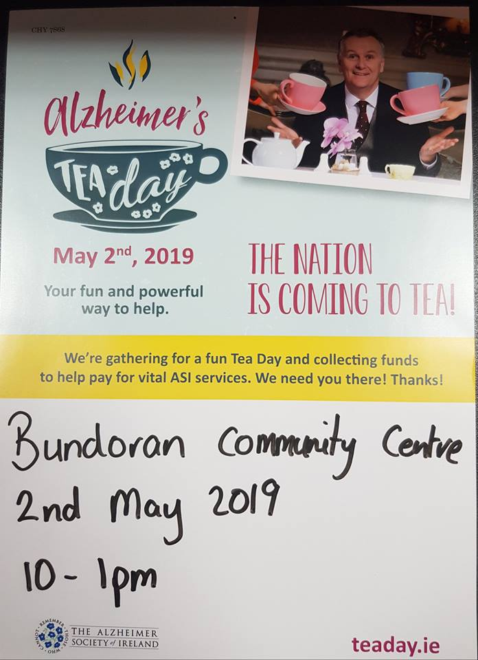 Alzheimers's Tea Day