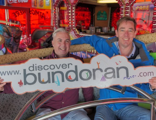 Ryan Tubridy in Bundoran