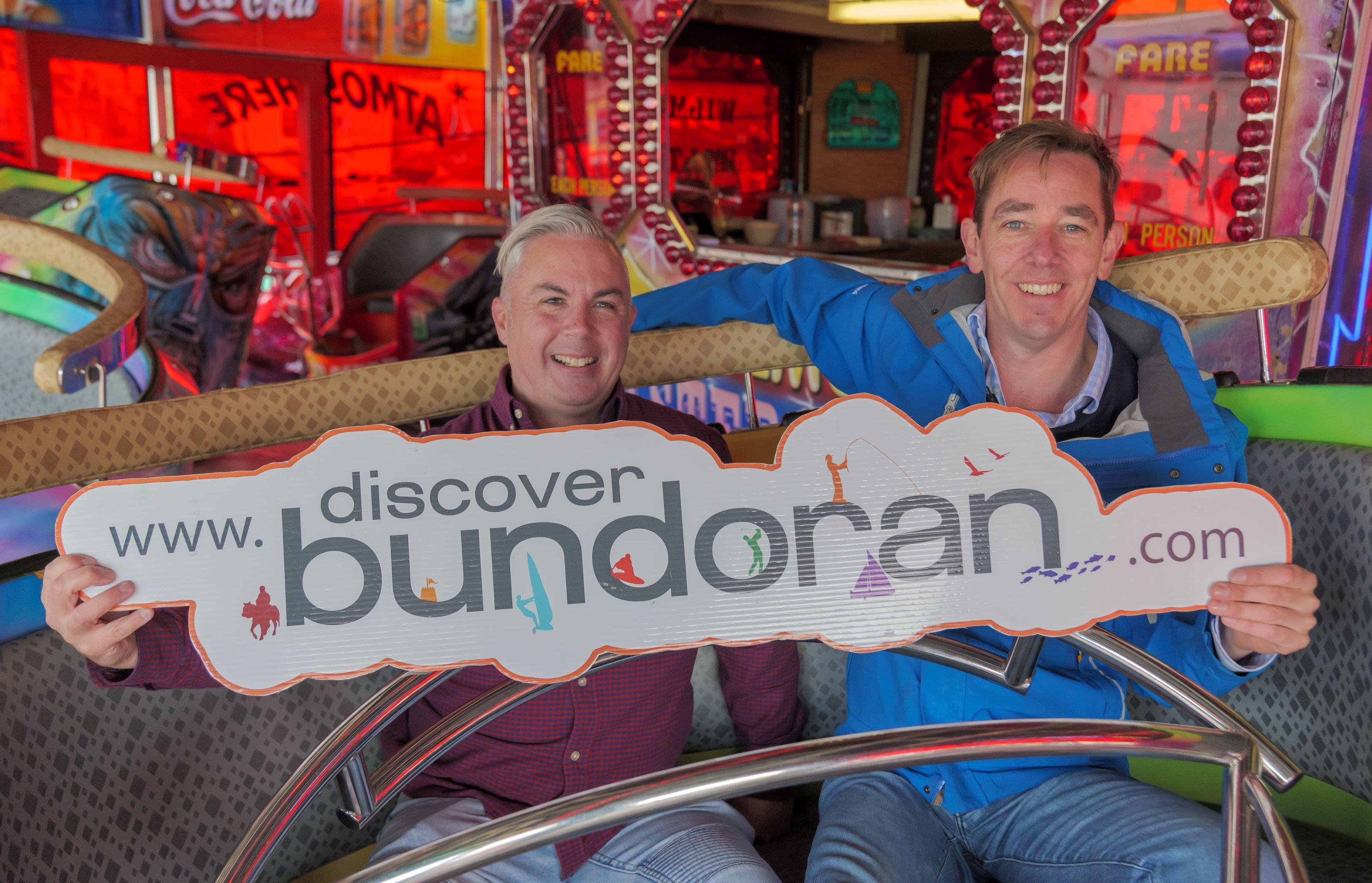 Ryan Tubridy in Bundoran