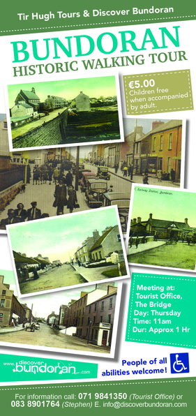 Bundoran Historical Walking Tour flyer