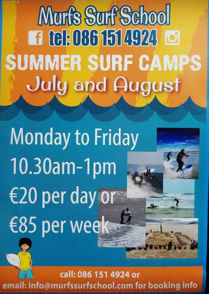 Murf's Surf School - Bundoran Summer Camps 2019