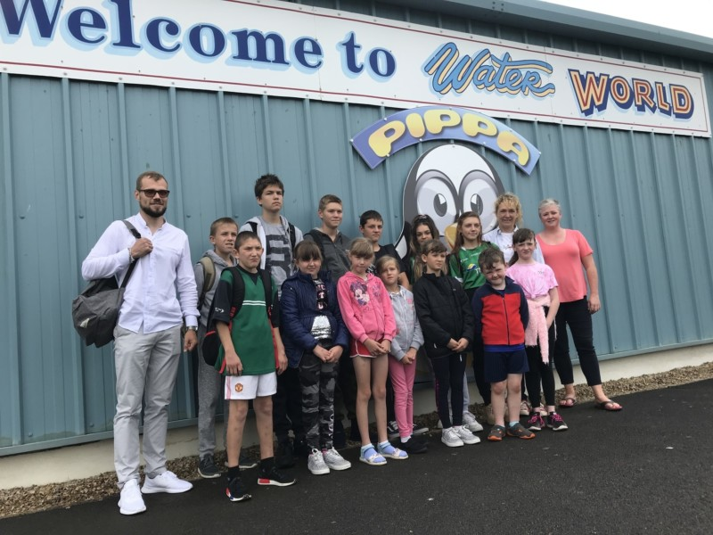 Chernobyl group at Waterworld August 3rd 2019