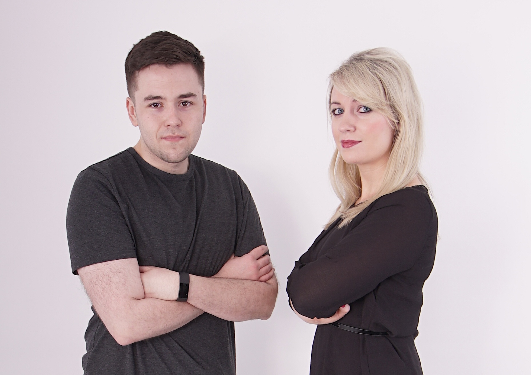 picture shows Dave and Fionnuala from iRadio who will broadcast from Bundoran on Wednesday 14th August
