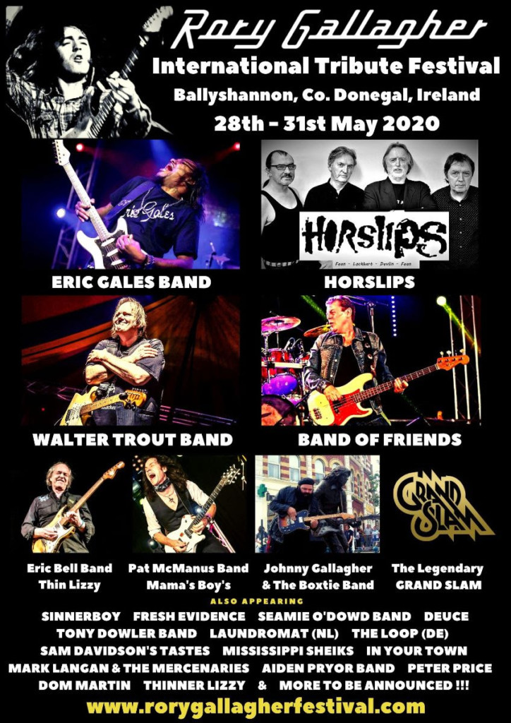 rory gallagher headliners