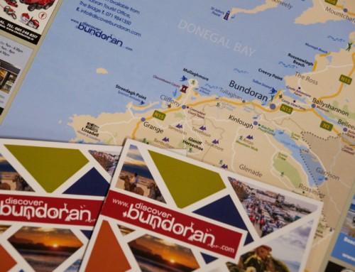 New Bundoran brochure and town map launched