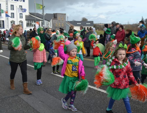"""Welcome"" theme for Bundoran St Patrick's Day Parade"