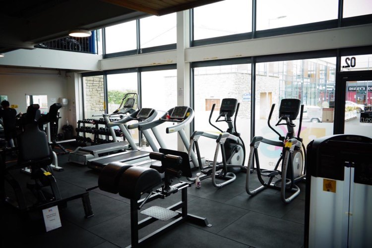 BMS Warehouse Gym interior 3