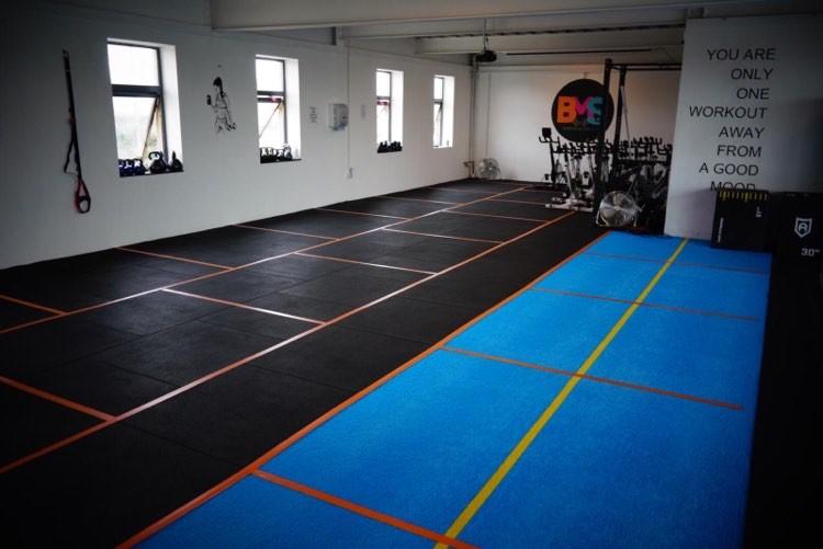 BMS Warehouse Gym interior 1