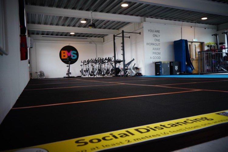 BMS Warehouse Gym interior 2