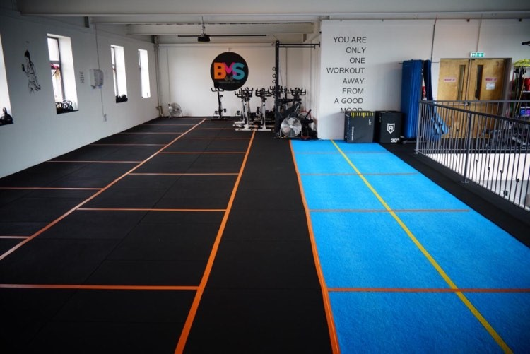 BMS Warehouse Gym interior 4
