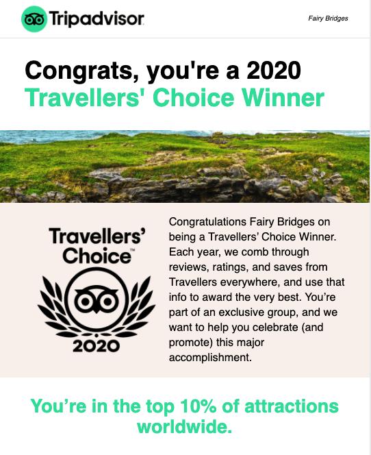 Fairy Bridges Travellers Choice