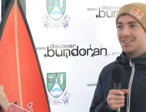 Bundoran man surfs Ireland's biggest wave