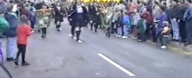 1993 St Patrick's Day parade Bundoran st patricks day nostalgia