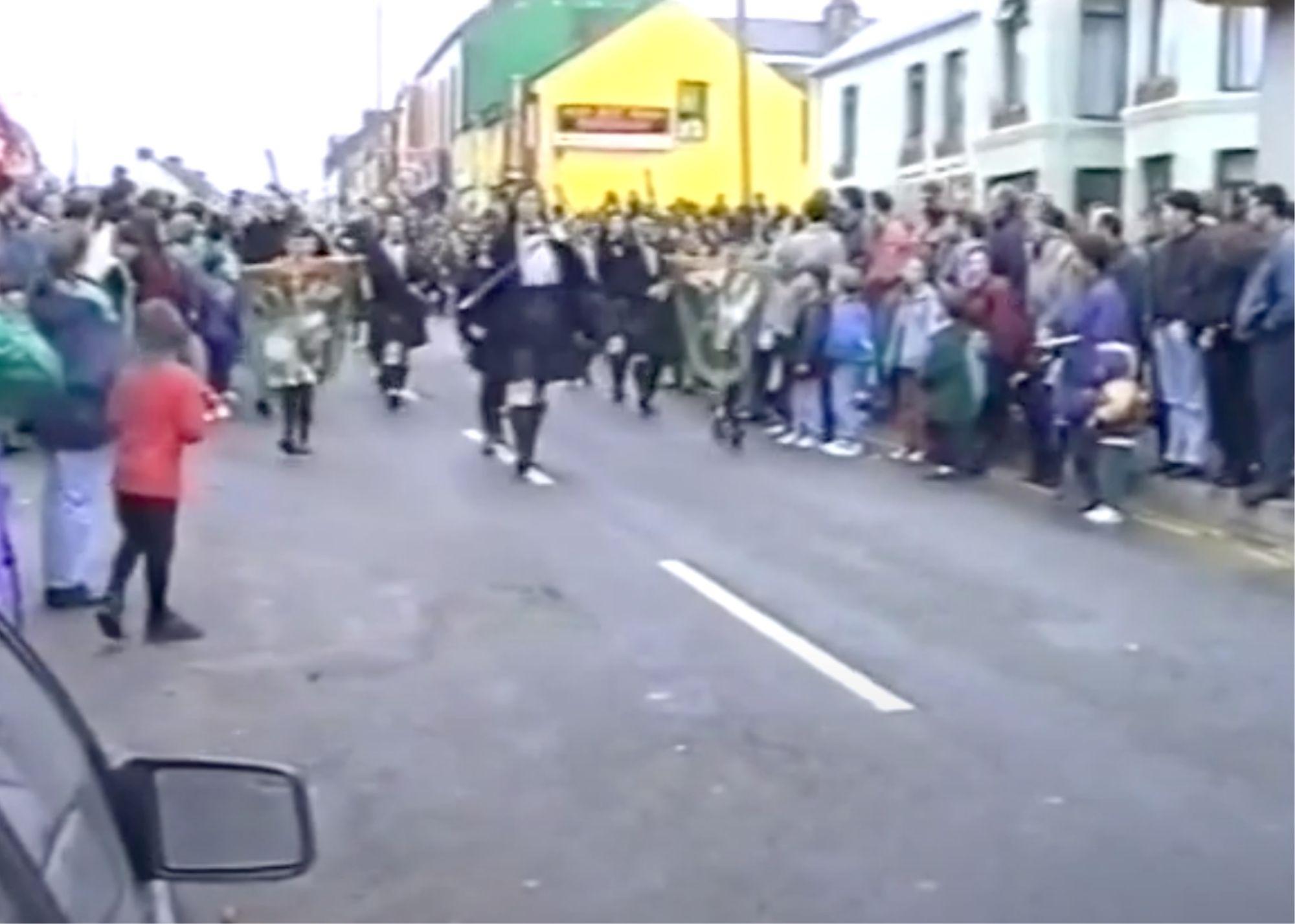 1993 St Patrick's Day parade Bundoran st patricks day nostalgia